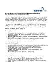 DAFA A/S søger en tekniker/konstruktør til Konstruktion & Udvikling ...