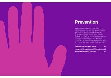 Ladda ner kapitlet om prevention som pdf - Cancerfonden
