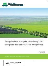 Definitief omslag rapport 2362.indd - Raad voor de leefomgeving en ...