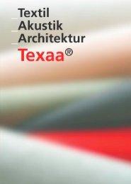 Texaa - frei-raum mit akustisch wirksamen Produkten