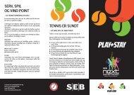 Play & Stay - Dansk Tennis Forbund
