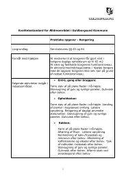 Kvalitetsstandarder - Rengøring forslag rettet 2012 - Guldborgsund ...
