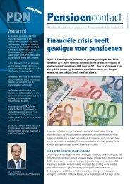Pensioencontact nr. 61 (september 2012) - www.PDNpensioen.nl.
