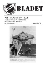 VSK Bladet 4-06 - Vegby
