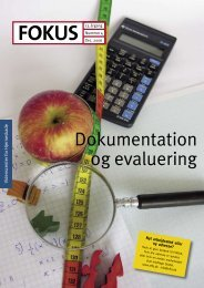 Dokumentation og evaluering - Servicestyrelsen