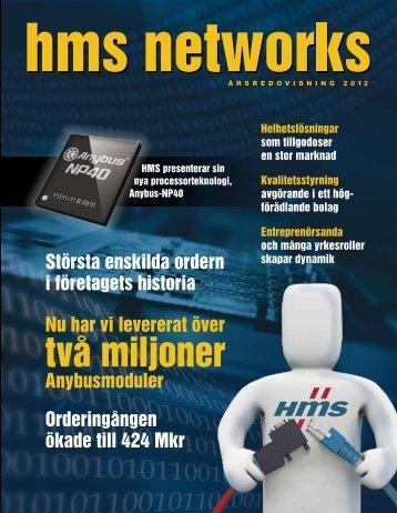 två miljoner - HMS Industrial Networks - Investor Relations