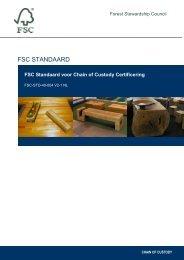 FSC Standaard in Nederlands