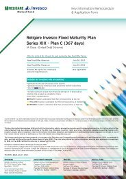 Religare Invesco Fixed Maturity Plan Series XIX - Plan C (367 days)