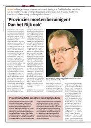 interview met Jan Franssen - Binnenlands Bestuur