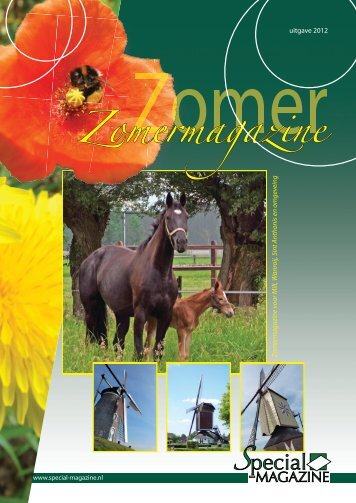 Zomermagazine - Special Magazine