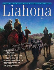 December 2007 Liahona