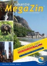Bekijk MegaZin® 21 - Pelikaan Reizen