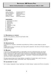 Referat 9 - AB Enghave Park