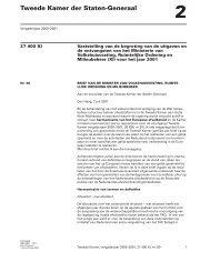 Jaarlijkse rapportage harmonisatie Europees afvalstoffenbeleid