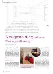 ZWP spezial 5/2010 - Praxiseinrichtung - Bauer & Reif Dentalhandel ...