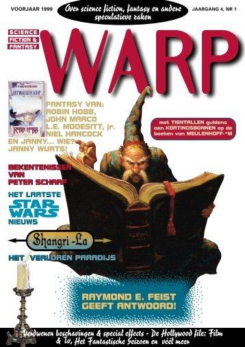 Warp voorjaar 1999 - Mynx, voor de avontuurlijke lezer