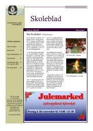 Skoleblad Julemarked - Sydvestjyllands Efterskole