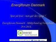 Præsentation - Energiforum Danmark