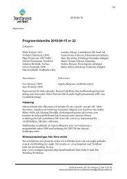 Programrådsmöte 2010-04-15 nr 22 - POM