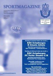 Bekijk de editie van Januari 2013 - KSC Grimbergen