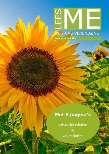beknopte webversie - ME|cvs Vereniging