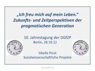 Ich freu mich auf mein Leben« Sibylle Picot - Deutsche Gesellschaft ...