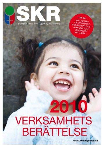 SKR Verksamhetsberättelse 2010 - Sveriges Kvinno