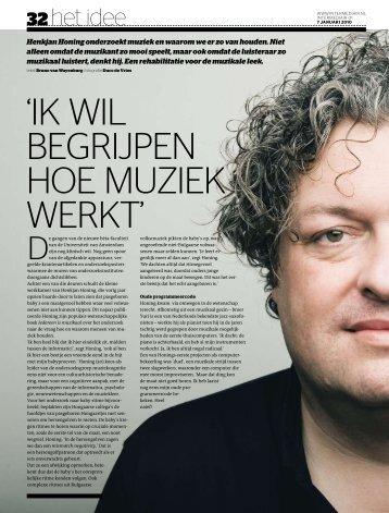 01 Het Idee.indd - Universiteit van Amsterdam