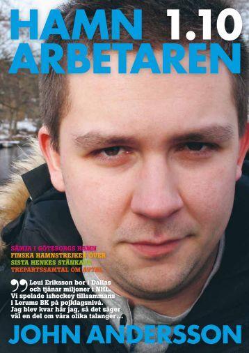 Hamnarbetaren_2010-1.pdf - Svenska Hamnarbetarförbundet