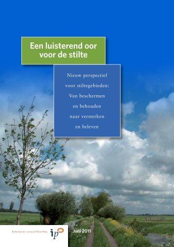 Nota Stiltegebieden 2012.pdf - Gemeente Weert