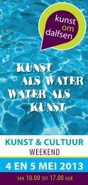 KUNST ALS WATER WATER ALS KUNST - Paulien Design