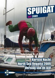 Kortste Nacht North Sea Regatta 2009 Verslag van de ALV