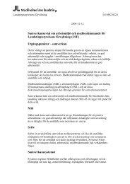 Samverkansavtal LSF dec. 2005