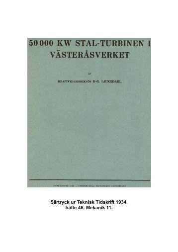 50 000 kw stal-turbinen i