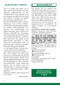 Konfirmationen 2012 in der Dorfkirche Großziethen Konfirmation ... - Seite 2