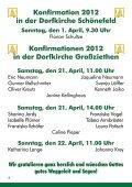 Konfirmationen 2012 in der Dorfkirche Großziethen Konfirmation ... - Seite 4