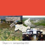 Jaarrapportage 2012 - Regio Zwolle