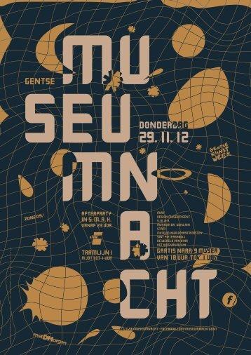 Download het hele programma van de Gentse Museumnacht ... - Stam