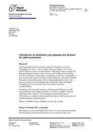 Ladda ner hela remissyttrandet - Region Värmland