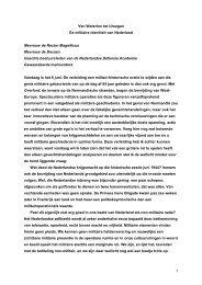 1 Van Waterloo tot Uruzgan De militaire identiteit ... - Boekje Pienter