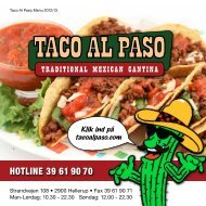 HOTLINE 39 61 90 70 - Taco Al Paso