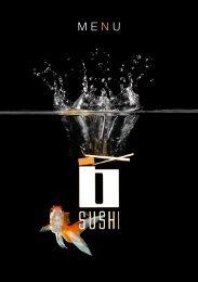 ME N U - B-Sushi