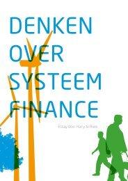Denken over Systeem Finance - Leren voor Duurzame Ontwikkeling
