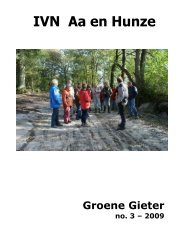Groene Gieter 2009 - 3 - IVN Aa en Hunze