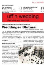 Weddinger Blutmai - Die Linke BO Wedding