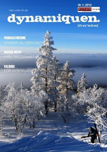 Ladda ner Nr 1 2012 - Dynamicus