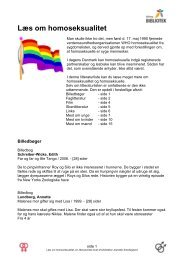 Læs om homoseksualitet - Nyborg Bibliotek