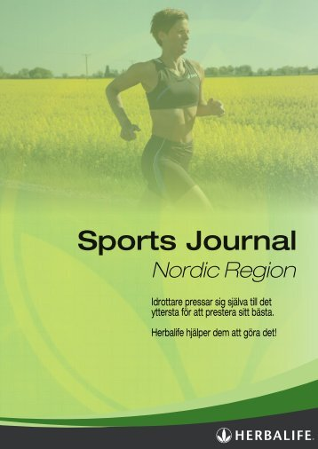 Sports Journal - Herbalife