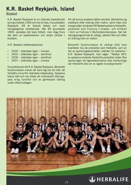 Sports Journal - Herbalife