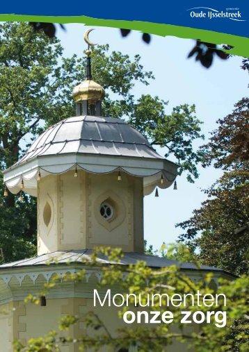 Monumenten onze zorg - De gemeente Oude IJsselstreek